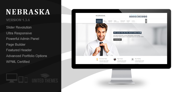 Arcadia - Responsive WordPress Blog