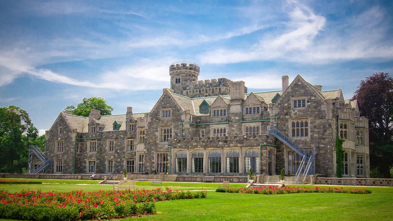 The Hamptons Mansion Elegant Wedding