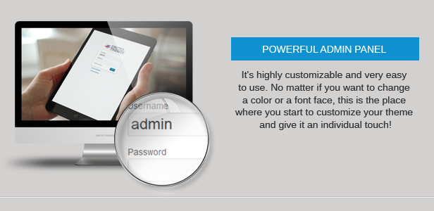 admin panel - Nevada - Responsive Multi-Purpose Theme