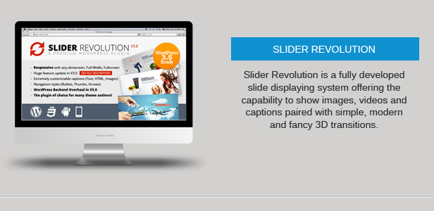 slider revolution - Nevada - Responsive Multi-Purpose Theme
