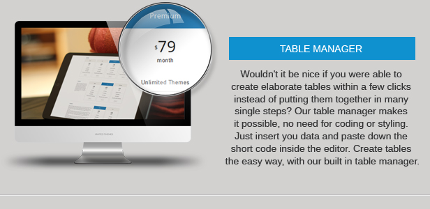 table manager - Nevada - Responsive Multi-Purpose Theme