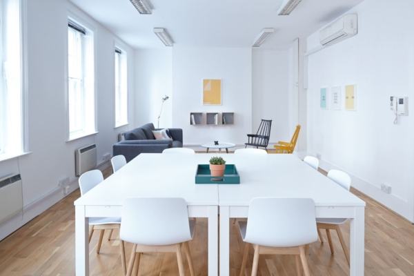 Sun Drenched Conference Room